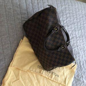 Louis Vuitton Damien Ebene Speedy 30
